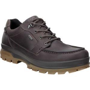 エコー ECCO メンズ スリッポン・フラット シューズ・靴 Rugged Track GORE-TEX Moc Toe Shoe Mocha Cow Oil Nubuck|fermart-shoes