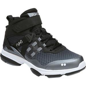 ライカ レディース シューズ・靴 フィットネス・トレーニング Devotion XT Mid Training Shoe Black/Grey/White|fermart-shoes