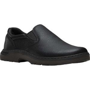 ドクターマーチン メンズ スリッポン・フラット シューズ・靴 Asset Slip On Shoe Black Pitstop|fermart-shoes