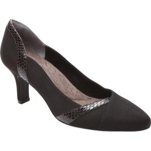ロックポート Rockport レディース シューズ・靴 パンプス Sharna Blocked Pump Black F Suede fermart-shoes