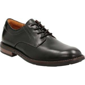 クラークス Clarks メンズ シューズ・靴 ビジネスシューズ Un.Elott Plain Toe Shoe Black Cow Full Grain Leather|fermart-shoes
