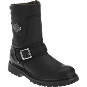 ハーレーダビッドソン メンズ ブーツ シューズ・靴 Booker Black|fermart-shoes