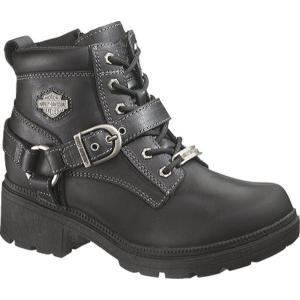 ハーレーダビッドソン レディース ブーツ シューズ・靴 Tegan Black fermart-shoes