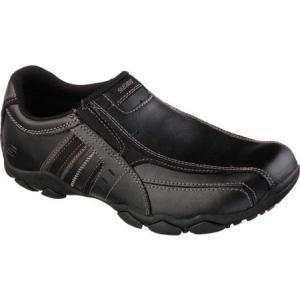 スケッチャーズ メンズ スリッポン・フラット シューズ・靴 Diameter Nerves Black|fermart-shoes