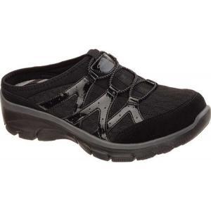 スケッチャーズ レディース クロッグ シューズ・靴 Relaxed Fit Easy Going Repute Clog Sneaker Black|fermart-shoes