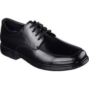 スケッチャーズ Skechers メンズ 革靴・ビジネスシューズ シューズ・靴 Relaxed Fit Caswell Oxford Black fermart-shoes