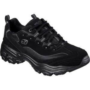 スケッチャーズ メンズ スニーカー シューズ・靴 D'Lites Sneaker Black|fermart-shoes