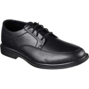 スケッチャーズ Skechers メンズ 革靴・ビジネスシューズ シューズ・靴 Work Relaxed Fit Gretna Maysville SR Oxford Black fermart-shoes
