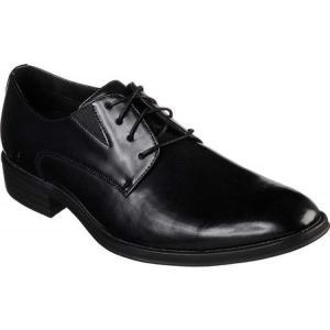 スケッチャーズ メンズ 革靴・ビジネスシューズ シューズ・靴 Larken Alcon Derby Shoe Black|fermart-shoes