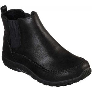 スケッチャーズ Skechers レディース ブーツ シューズ・靴 Relaxed Fit Reggae Fest Campout Ankle Boot Black|fermart-shoes