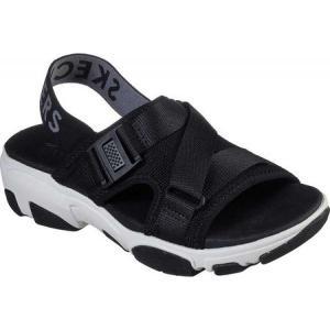 スケッチャーズ Skechers レディース サンダル・ミュール スポーツサンダル シューズ・靴 Daddy-O Dibs Slingback Sport Sandal Black|fermart-shoes