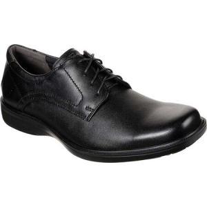スケッチャーズ Skechers メンズ 革靴・ビジネスシューズ シューズ・靴 Nelcen Kepton Oxford Black|fermart-shoes