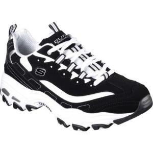スケッチャーズ メンズ スニーカー シューズ・靴 D'Lites Sneaker Black/White fermart-shoes