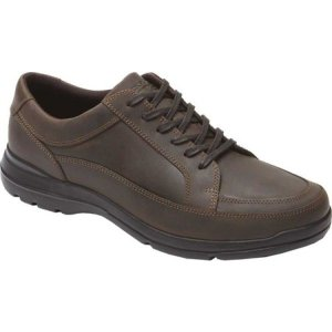 ロックポート メンズ 革靴・ビジネスシューズ シューズ・靴 Junction Point Lace To Toe Oxford Chocolate Leather|fermart-shoes