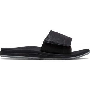 ニューバランス メンズ サンダル シューズ・靴 Recharge Slide Black/Grey Synthetic/Mesh Liner|fermart-shoes