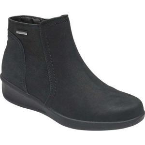 アラヴォン Aravon レディース ブーツ シューズ・靴 Fairlee Ankle Boot Black Leather|fermart-shoes