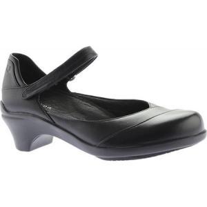 アラヴォン Aravon レディース シューズ・靴 サンダル Maya Black Leather|fermart-shoes