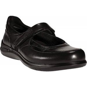 アラヴォン Aravon レディース シューズ・靴 スニーカー Farah Black Leather|fermart-shoes