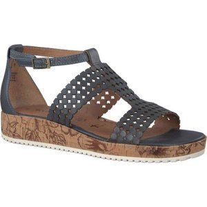 タマリス Tamaris レディース サンダル・ミュール シューズ・靴 Siri Sandal Denim Leather fermart-shoes