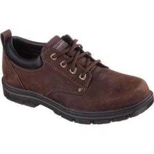 スケッチャーズ Skechers メンズ シューズ・靴 ビジネスシューズ Relaxed Fit Segment Rilar Brown|fermart-shoes