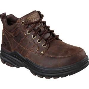スケッチャーズ Skechers メンズ シューズ・靴 ブーツ Relaxed Fit Holdren Lender Boot Dark Brown|fermart-shoes