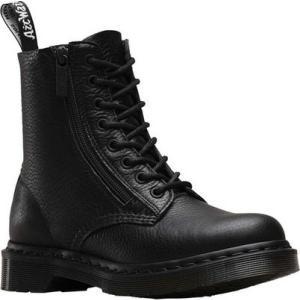 ドクターマーチン Dr. Martens レディース シューズ・靴 ブーツ Pascal 8-Eye Zip Boot Black Aunt Sally fermart-shoes