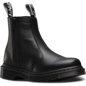 ドクターマーチン Dr. Martens レディース シューズ・靴 ブーツ 2976 Zip Chelsea Boot Black Aunt Sally fermart-shoes