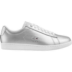 ラコステ Lacoste レディース シューズ・靴 スニーカー Carnaby EVO 117 3 Sneaker Light Grey Synthetic Leather|fermart-shoes