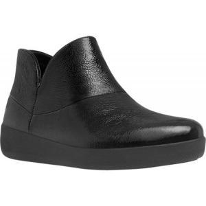 フィットフロップ FitFlop レディース シューズ・靴 ブーツ Supermod Ankle Boot Black Soft Leather|fermart-shoes