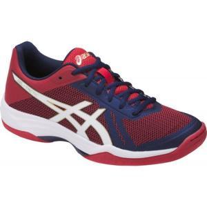 アシックス ASICS レディース シューズ・靴 バレーボール GEL-Tactic 2 Volleyball Shoe Indigo Blue/White/Prime Red|fermart-shoes