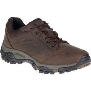 メレル メンズ シューズ・靴 ハイキング・登山 Moab Adventure Lace Hiking Shoe Dark Earth Nubuck Leather|fermart-shoes