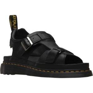 ドクターマーチン Dr. Martens メンズ サンダル シューズ・靴 Hayden Grunge Sandal Black Grizzly Leather fermart-shoes