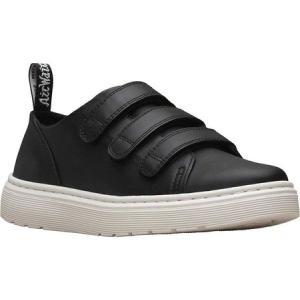 ドクターマーチン Dr. Martens メンズ スニーカー シューズ・靴 Dante Strap Sneaker Black Brando Full Grain Waxy Leather fermart-shoes