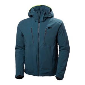 ヘリーハンセン メンズ アウター スキー・スノーボード Alpha 3.0 Insulated Ski Jacket Midnight Green|fermart-shoes