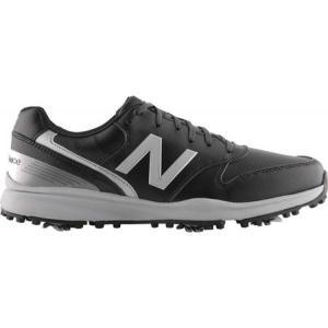 ニューバランス New Balance メンズ シューズ・靴 ゴルフ Sweeper NBG1800 Golf Spike Black Microfiber Leather fermart-shoes