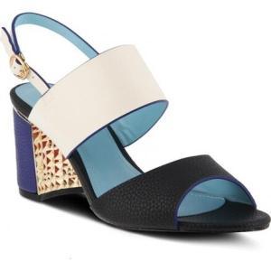 アズラ レディース サンダル・ミュール シューズ・靴 Olgica Colorblock Sandal|fermart-shoes