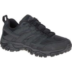 メレル メンズ ブーツ シューズ・靴 Moab 2 Tactical Boot Black Waterproof Leather/Ripstop Textile|fermart-shoes