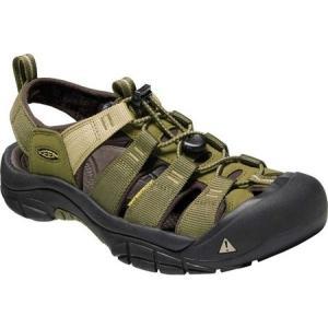 キーン Keen メンズ サンダル シューズ・靴 Newport Hydro Fisherman Sandal Dark Olive/Antique Bronze|fermart-shoes