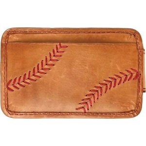 ローリングス Rawlings メンズ マネークリップ Baseball Stitch Money Clip Tan|fermart-shoes