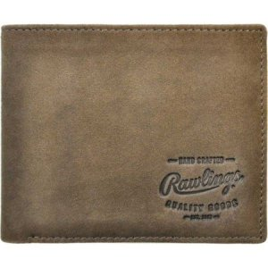 ローリングス Rawlings メンズ 財布 Double Steal Bilfold Wallet Brown|fermart-shoes