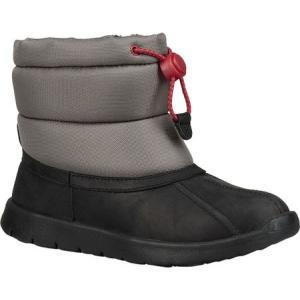 アグ UGG メンズ ブーツ シューズ・靴 Puffer Waterproof Boot Black Waterproof/Canvas|fermart-shoes