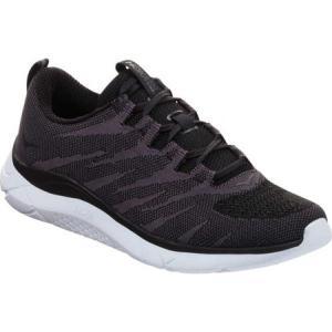 ホカ オネオネ レディース シューズ・靴 ランニング・ウォーキング Hupana Knit Jacquard Running Sneaker Black/White Knit|fermart-shoes
