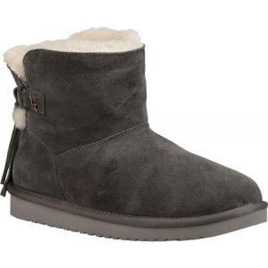 アグ Koolaburra by UGG レディース ブーツ シューズ・靴 Jaelyn Mini Boot Stone Grey Suede|fermart-shoes