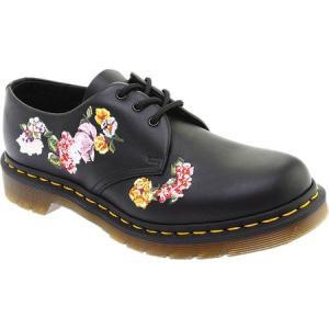ドクターマーチン Dr. Martens レディース シューズ・靴 1461 Vonda II 3-Eye Shoe Black Softy Leather|fermart-shoes