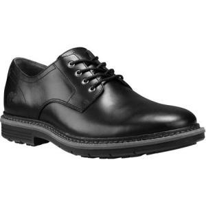 ティンバーランド Timberland メンズ 革靴・ビジネスシューズ シューズ・靴 Naples Trail Oxford Black Brando Full Grain Leather|fermart-shoes