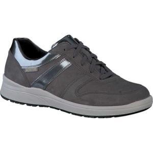 メフィスト Mephisto レディース スリッポン・フラット シューズ・靴 Rebeca Grey Bucksoft/Magic Suede|fermart-shoes