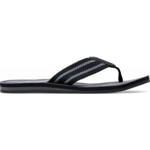 クラークス Clarks メンズ サンダル シューズ・靴 Lacono Post Thong Sandal Grey/Black Combo Textile|fermart-shoes