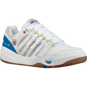 ケースイス K-Swiss メンズ スニーカー シューズ・靴 SI-18 International Heritage Sneaker White/Directoire Blue/Vibrant Orange|fermart-shoes