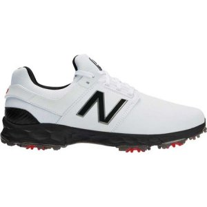 ニューバランス New Balance メンズ ゴルフ シューズ・靴 Fresh Foam LinksPro NBG4001 Waterproof Golf Shoe White/Black Performance Mesh/Microfiber|fermart-shoes