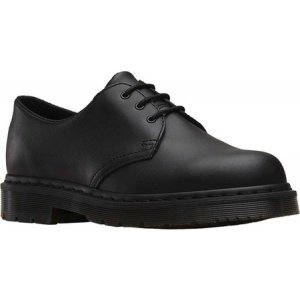ドクターマーチン Dr. Martens Work レディース シューズ・靴 1461 3-Eye Shoe Slip Resistant Black Mono Industrial|fermart-shoes
